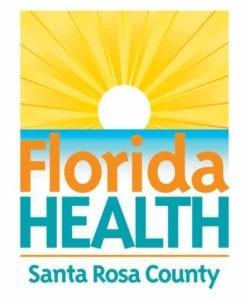 Florida Department of Health of Santa Rosa County logo