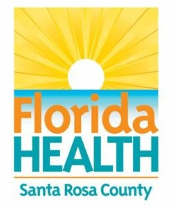 Florida Department of Health of Santa Rosa County logo