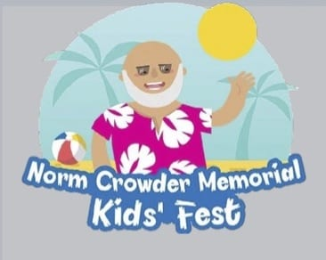Logo for Norm Crowder Memorial Kids' Fest